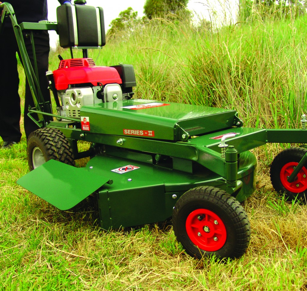 It is critical to remove grass & scrub from around a property.