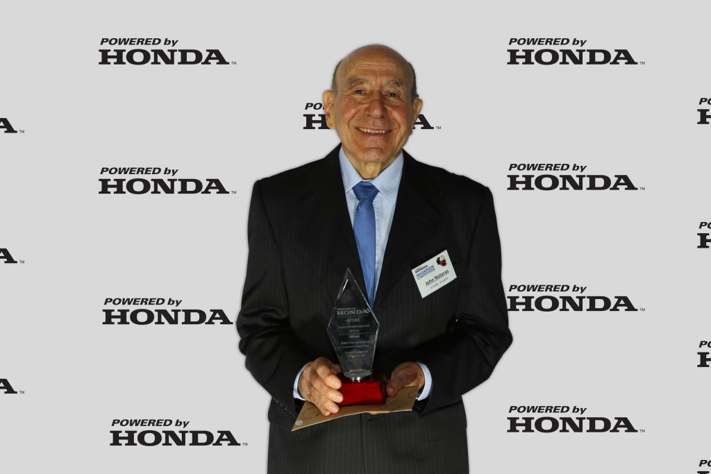 John Notaras from ATOM Industries, winner of the OEM category.